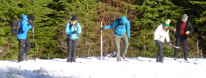 Next Adventure cross-country ski lesson