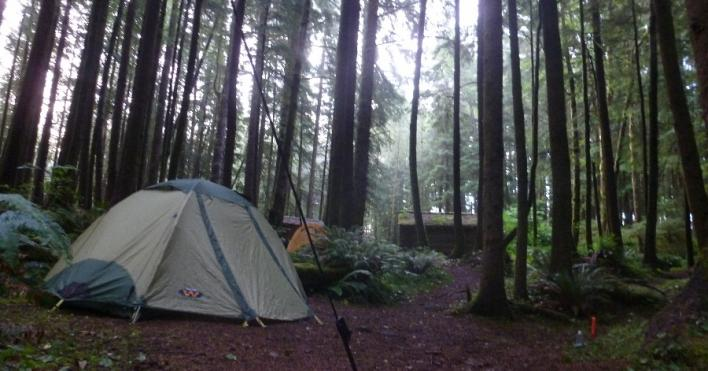 Next Adventure Backpack Oregon Coast hikers camp