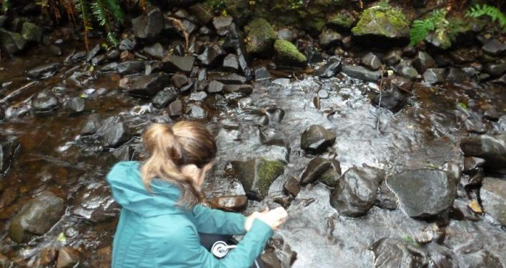 Next Adventure Backpack Oregon Coast water filtration instruction