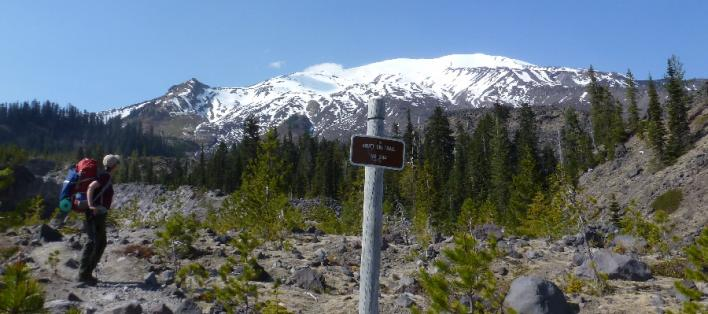 Next Adventure Mt St Helens backpack camping