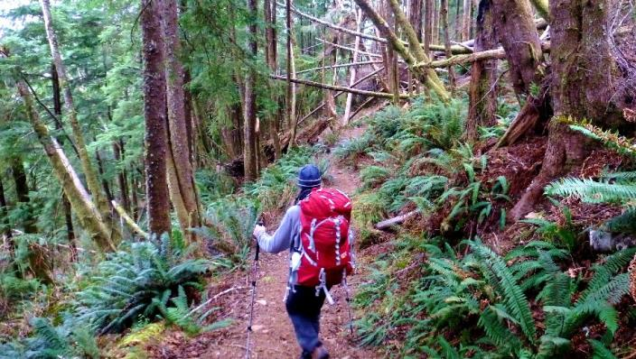 Backpacking camping tours with Next Adventure in Oregon