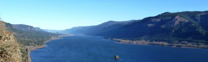 Columbia River Gorge views