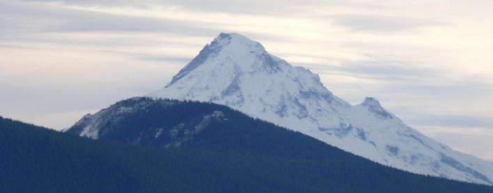Mount Hood from Hamilton Mtn in the CRG