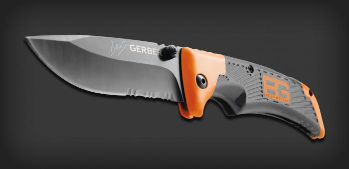 Gerber knives used by bear grylls