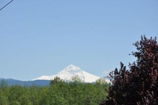 Mt. Hood from Troutdale