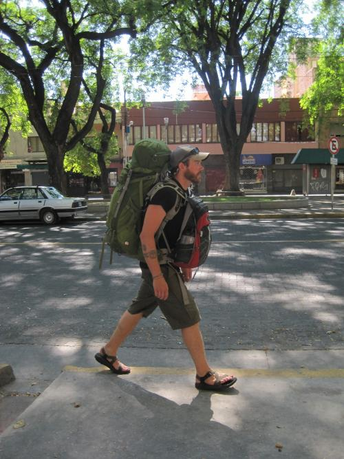International travel with the Osprey Aether pack