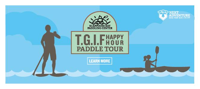 TGIF happy hour paddling tour
