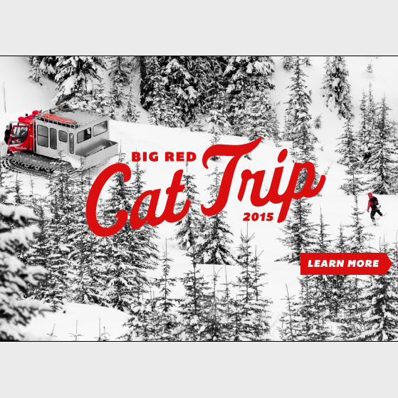Big Red CAT trip with Next Adventure to BC Backcountry