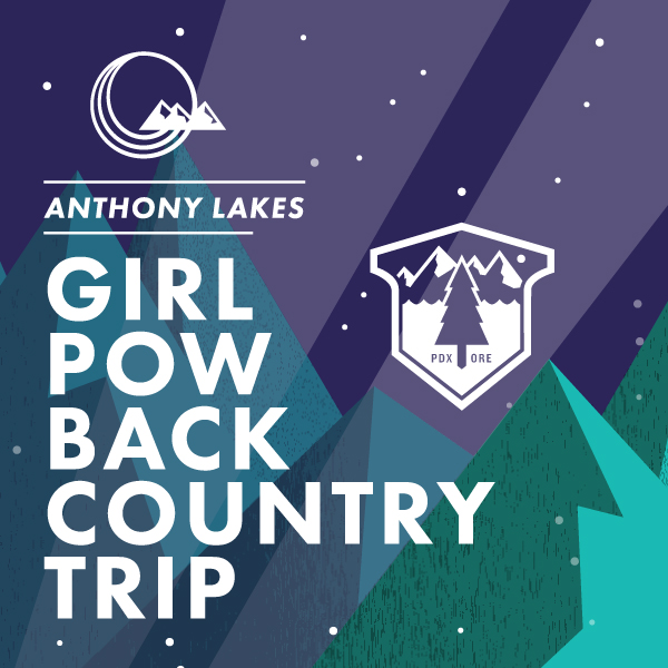 Ladies Only Girl Pow Backcountry Skiing and Snowboarding trip