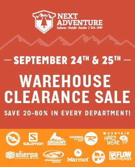 Fall Warehouse Sale