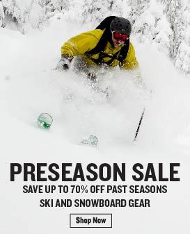 Preseason Ski & Snowboard Sale