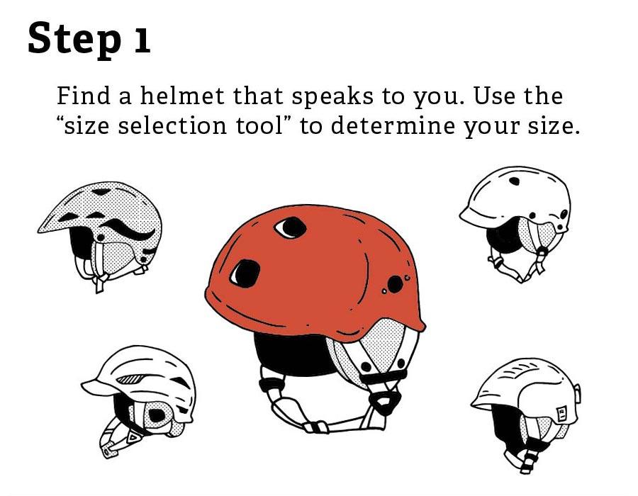 Helmet Size Guide 1