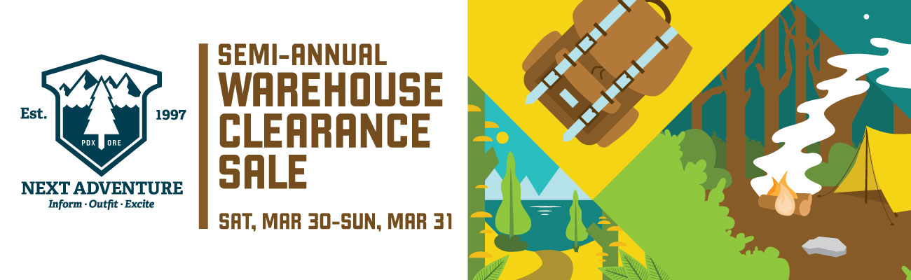 Next Adventure Warehouse Clearance Sale | Next Adventure