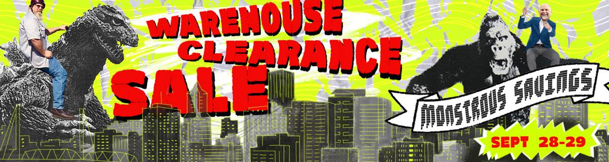 Fall Warehouse Clearance Sale