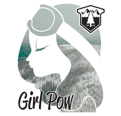 Girl Pow Ladies Cat Ski Trip