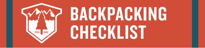 gear checklists
