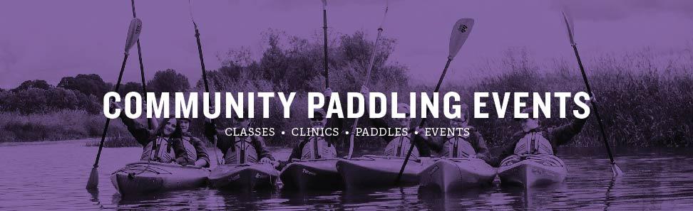 COMMUNITY PADDLING EVENTS