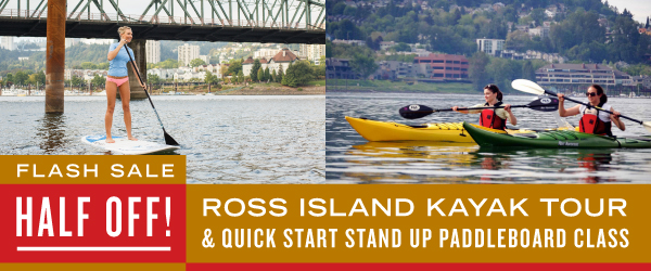 flash sale ross island kayak and quick start sup