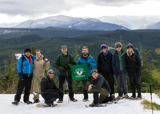 Snowshoeing Mt Hood