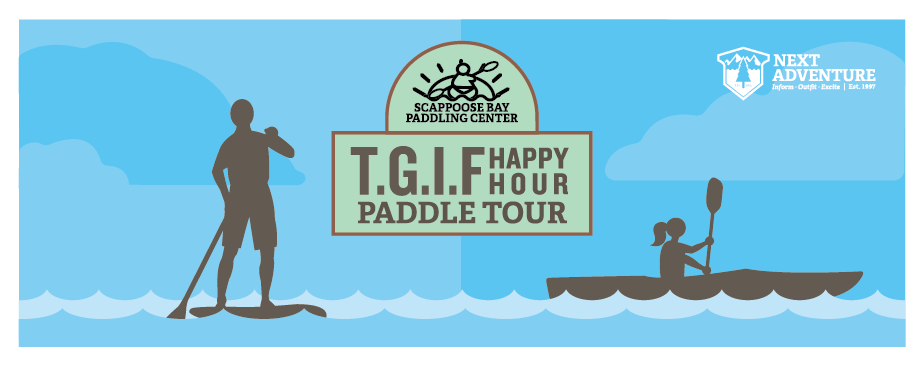 TGIF happy hour paddling tour