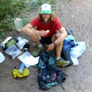 PCT Thru-Hikers at Wapinitia Pass