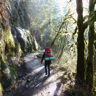 TRIP REPORT: Eagle Creek Trail Backpack