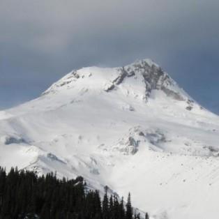 Snowboard Mountaineering Mt. Hood- Newton Clark Headwall Funnel