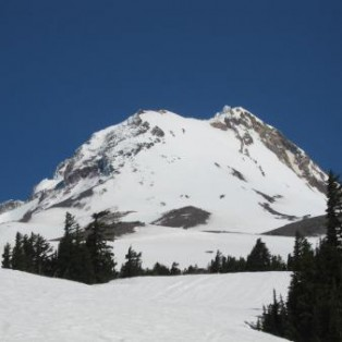 Mt. Hood- Wy'east face