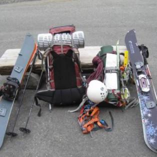 Climbing and Snowboarding on Mt. Rainier