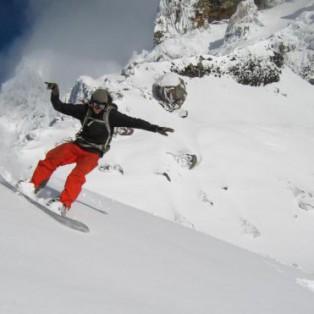 Early Season Backcountry Snowboarding on Mt. Hood