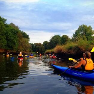 Scappoose Bay Kayaking