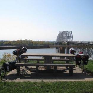Bike Tour 2012: Crossing the mighty Mississippi