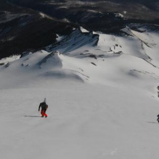 Climbing Mt. Hood's Sunshine Route/ South Side Snowboard Descent