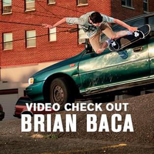 Brian Baca Skating In Cali