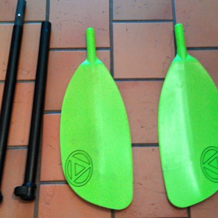 Gear Review: Accent Rage 4 Piece Breakdown Paddle