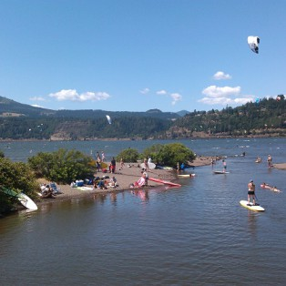 Trip Report: Stand Up Paddleboarding Hood River