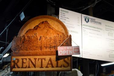 next adventure ski rentals