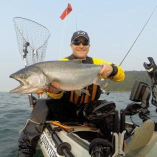 Trip Report: Kayak Fishing at Buoy 10