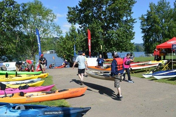 summer splash kayak demo day