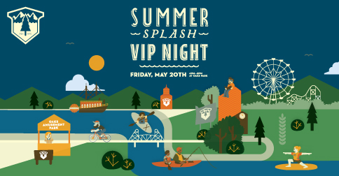 summer splash vip night