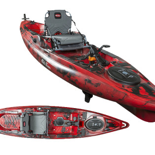 BRAND NEW! Gear Review: 2016 Old Town Predator PDL Pedal Driven Kayak