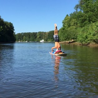 Trip Report: Stand-Up Paddleboarding at Sellwood Park