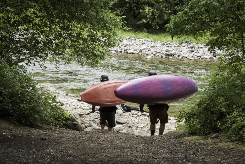Lower Wind River Kayaking