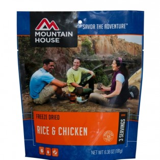 Gear Review: Mountain House Rice and Chicken