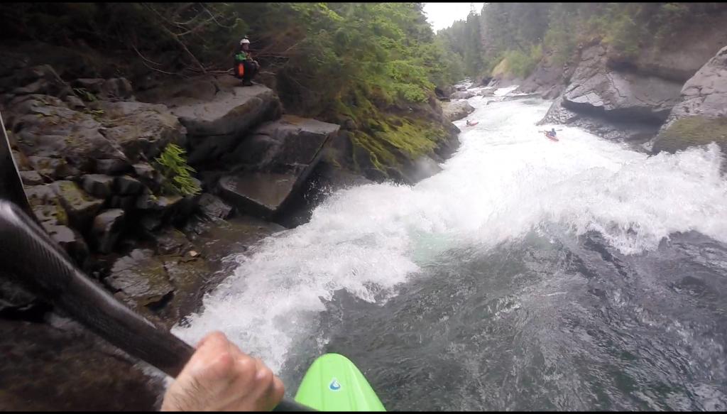 Upper Upper Cispus rafting