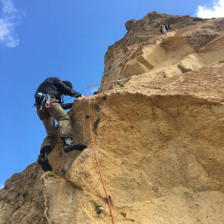 Trip Report: Thin Air, 5.10b, Koala Rock, Smith Rock State Park, OR