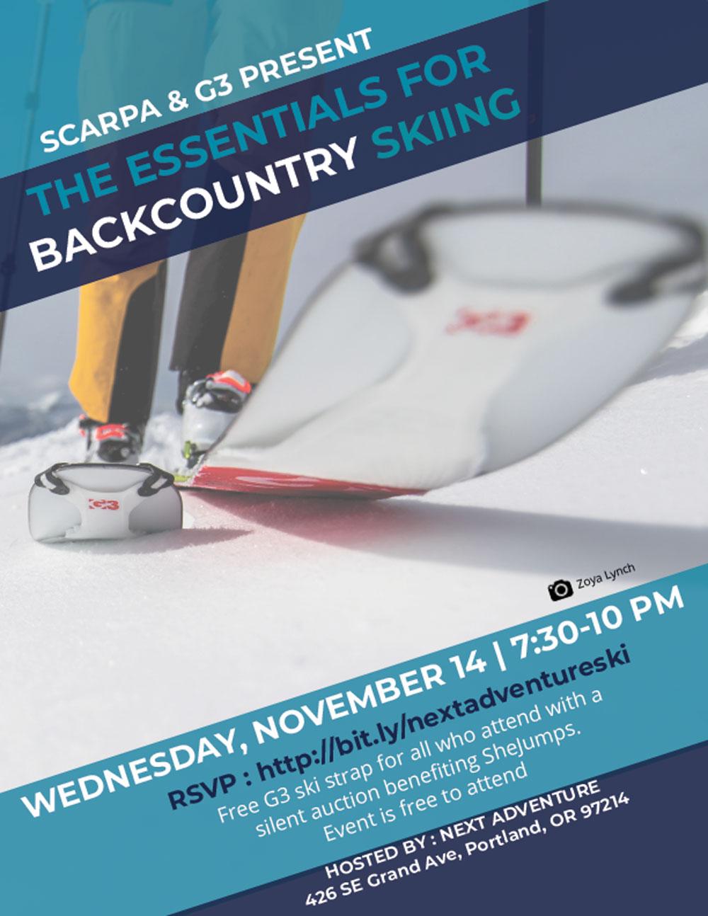 Backcountry Ski Clinic
