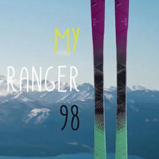 Video Gear Review: Fischer My Ranger 98 Women's Ski