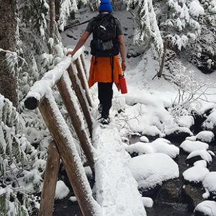 Trip Report: Mirror Lake Snowshoe, Mt. Hood Wilderness