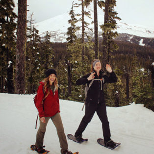 Trip Report: Snowshoeing at Bennet Pass on Mount Hood